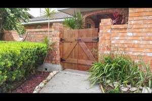 6801 N 14th Lane entry gate 2
